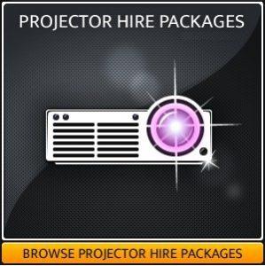 Projector & AV Screen Hire package