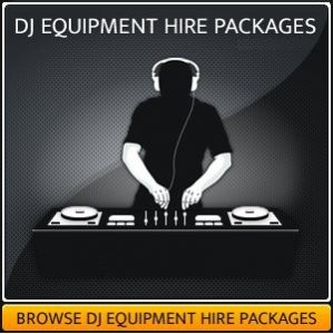 DJ Equipment Hire Setup