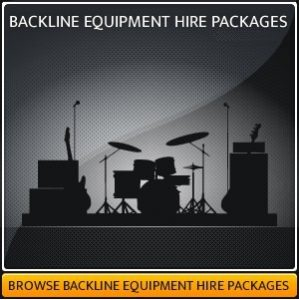 BACKLINE HIRE EQUIPMENT