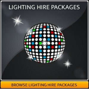 Disco & Party Lighting Equipment Hire