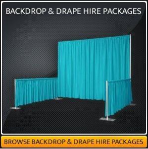 Backdrop & Drape Hire in Surrey
