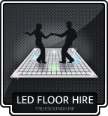 LED Starlit Dance Floor Hire Packages