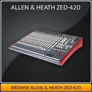 Allen & Health Mixing Desk